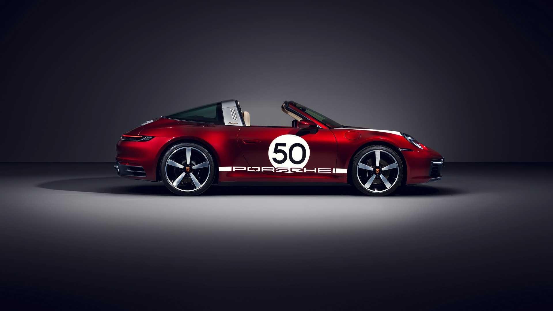 Новий Porsche 911 Targa отримав першу спецверсію