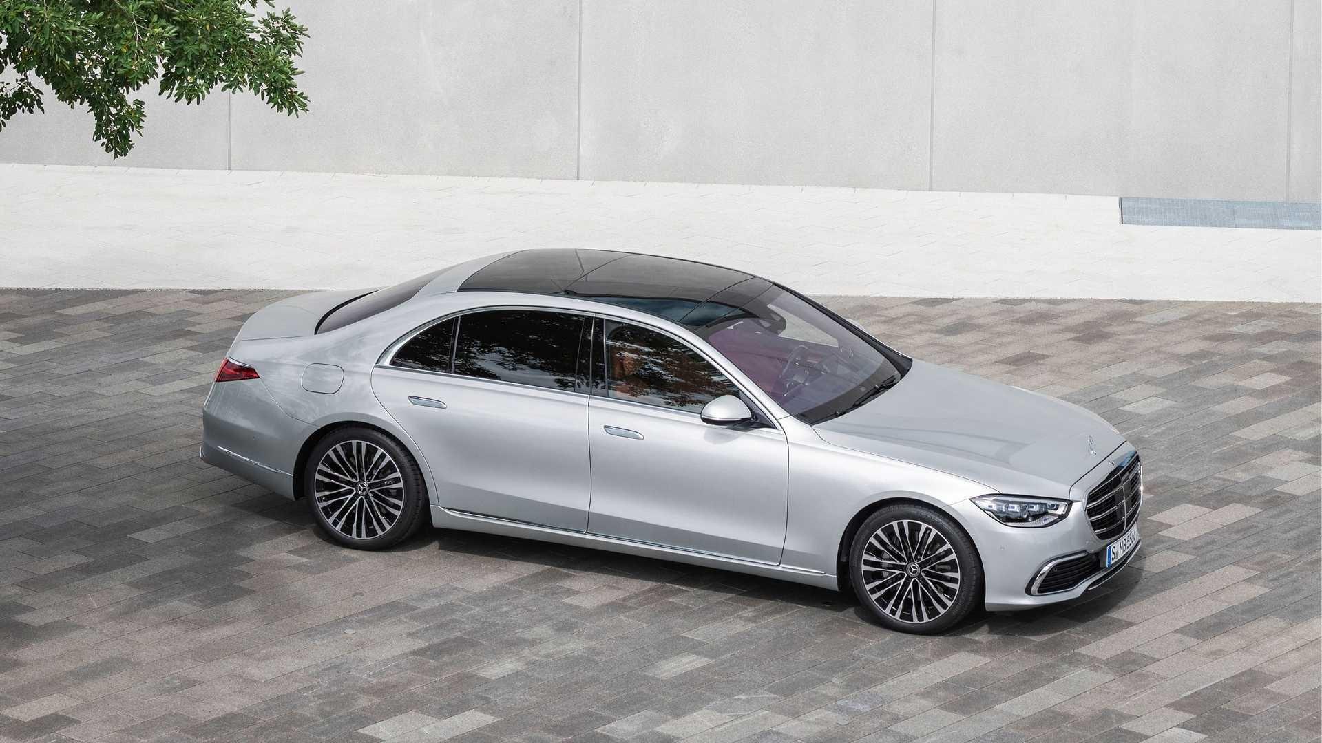 Mercedes-Benz S-класу 2021 року