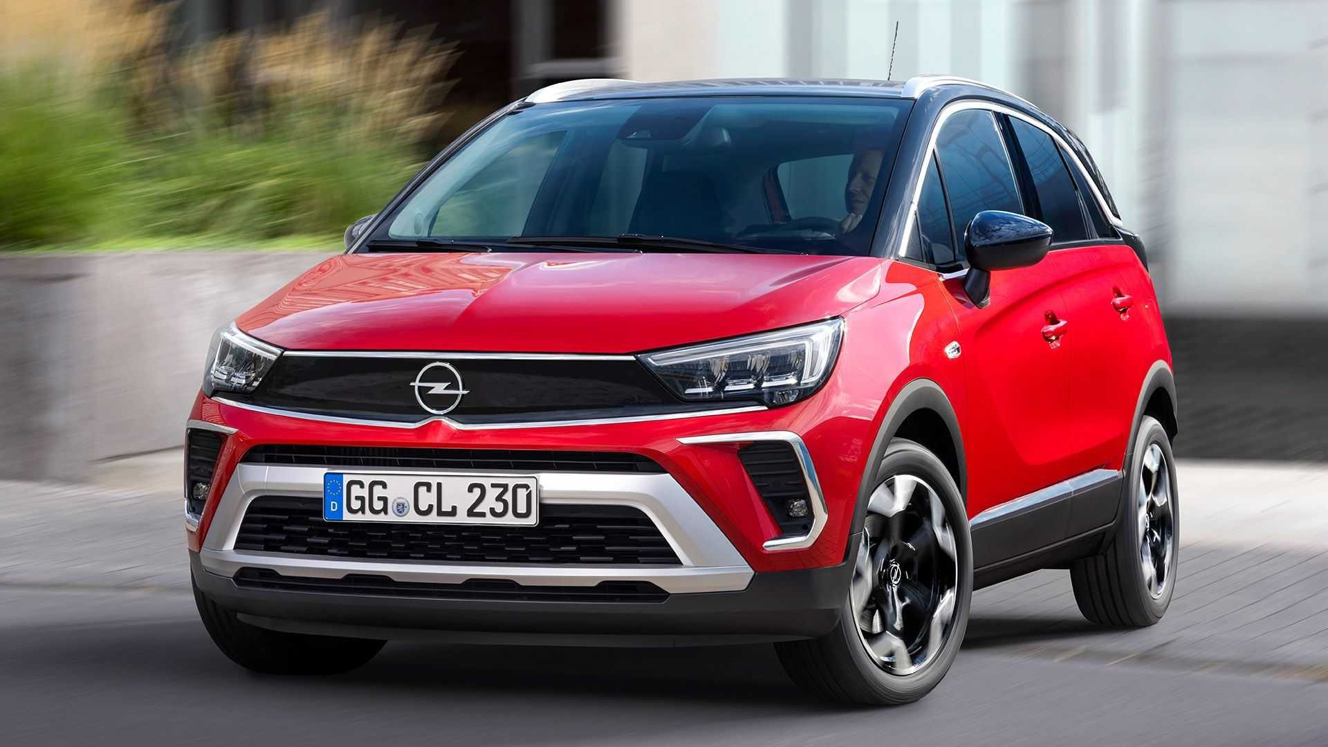 Оновлений кросовер Opel Crossland «приїхав» до України