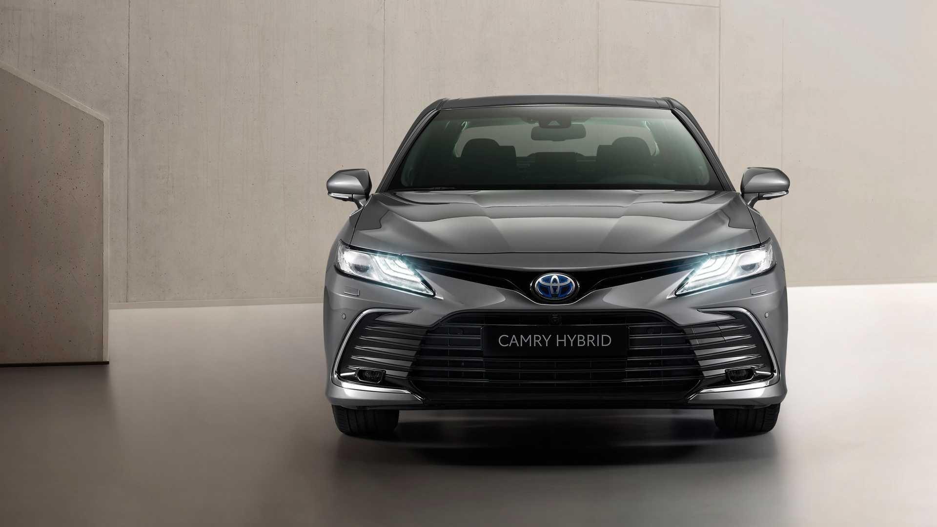Toyota Camry 2021 года (Европа )