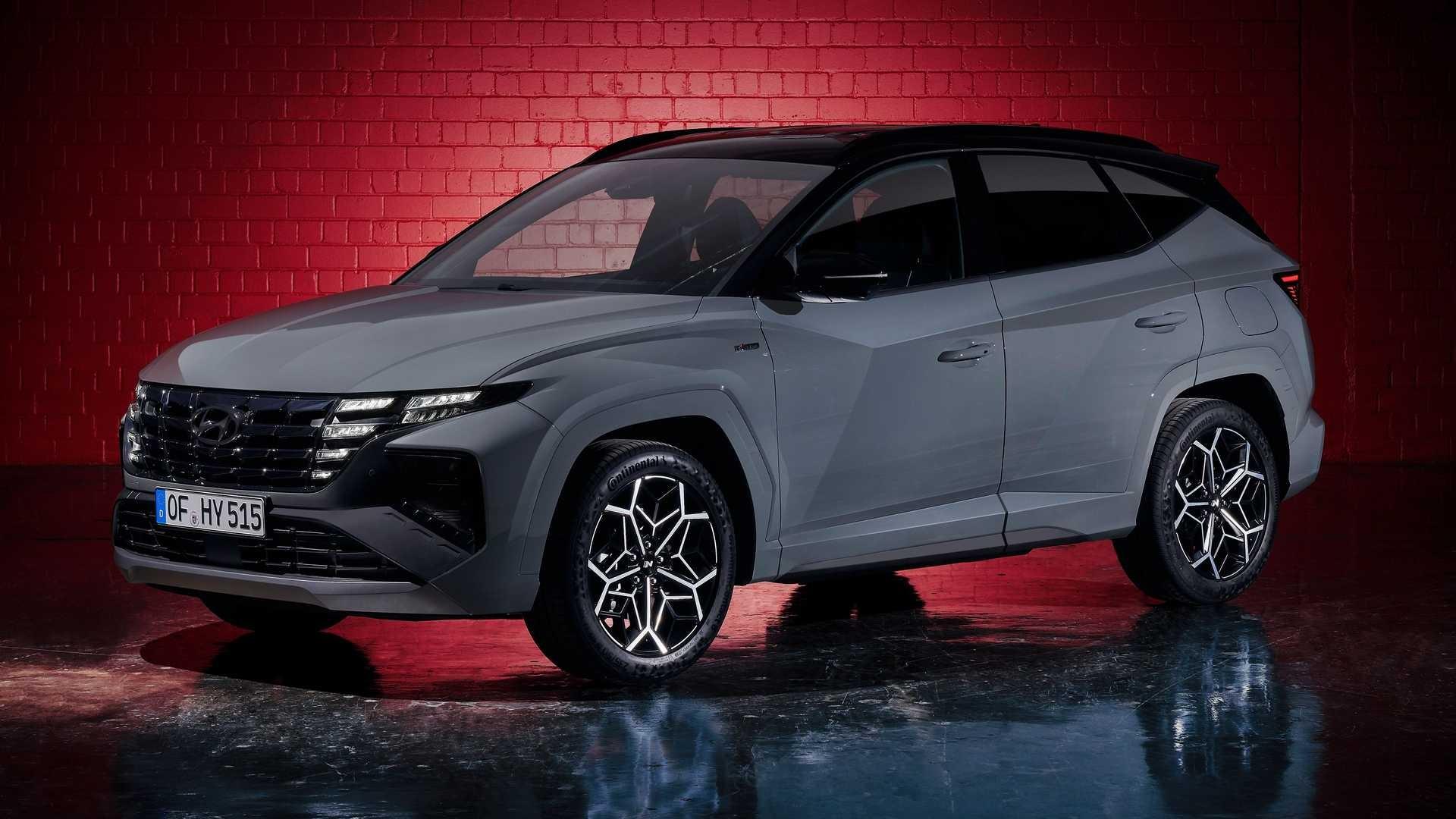 Hyundai представив «прокачану» версію кросовера Tucson N Line