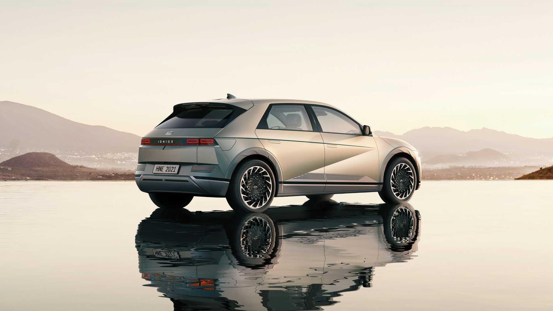 Hyundai Ioniq 5 2021 року