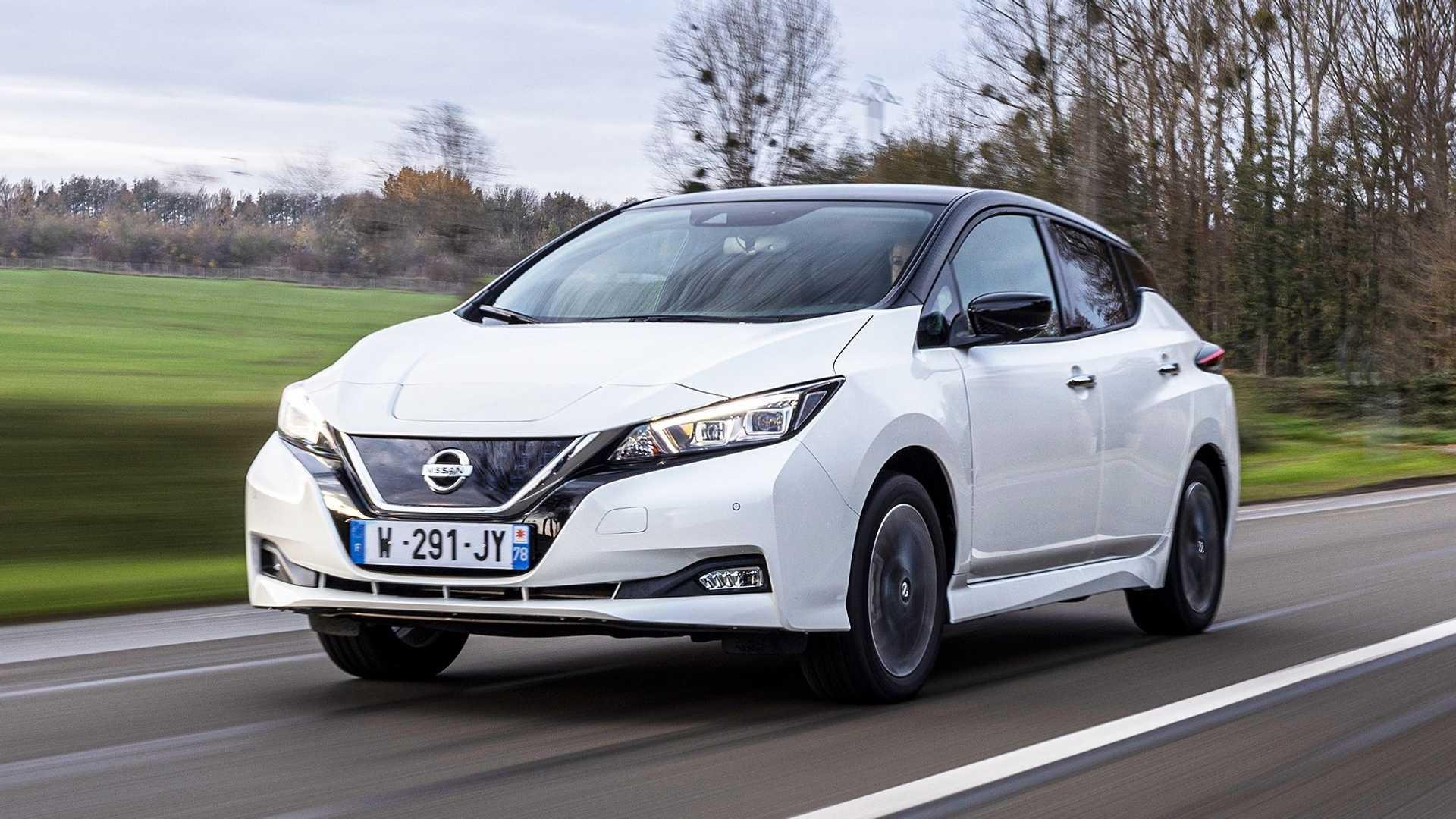 Nissan оголосив про старт продажів електрокара Leaf в Україні