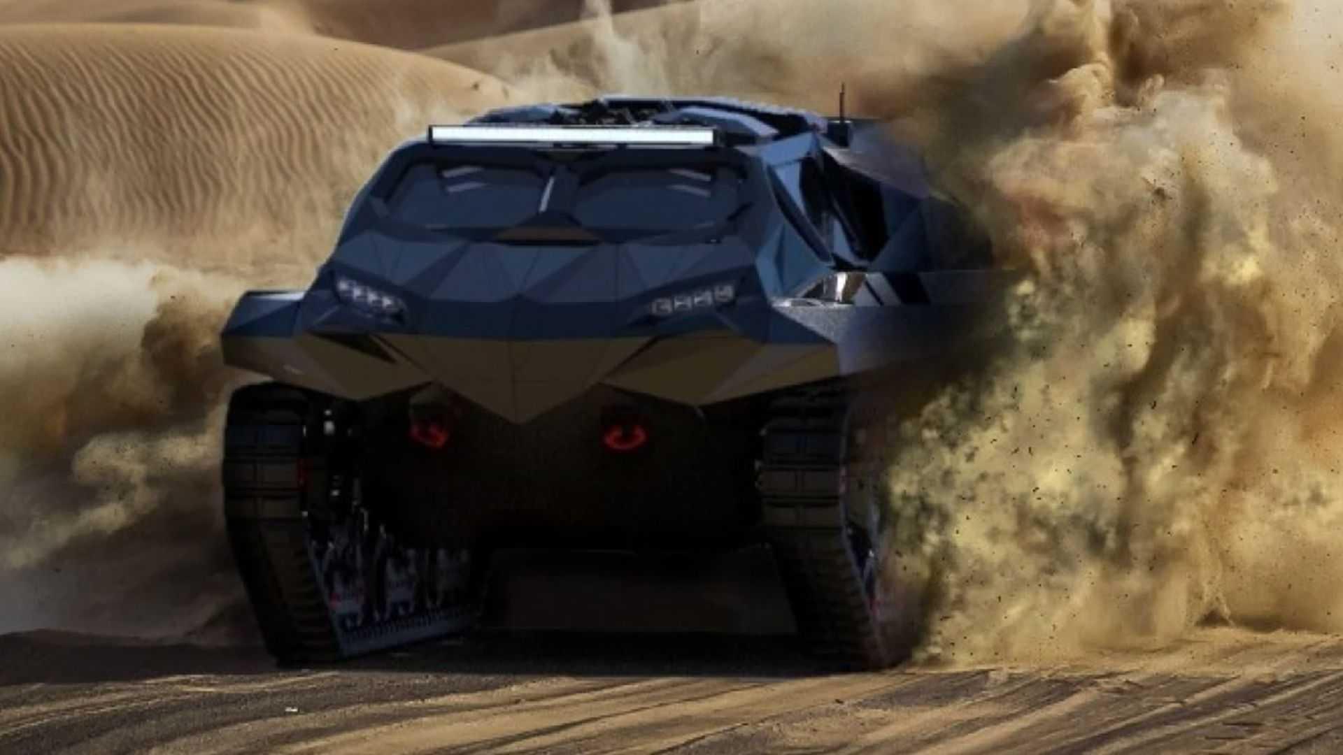 Український автомобіль-амфібія Storm презентували в ОАЕ