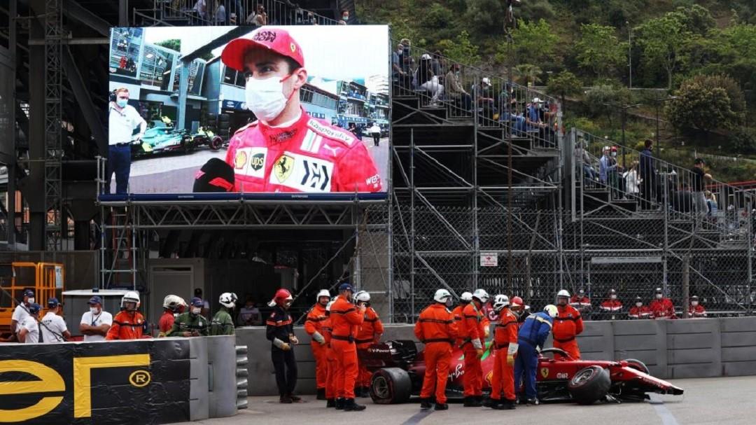 Шарль Леклер аварія в Монако