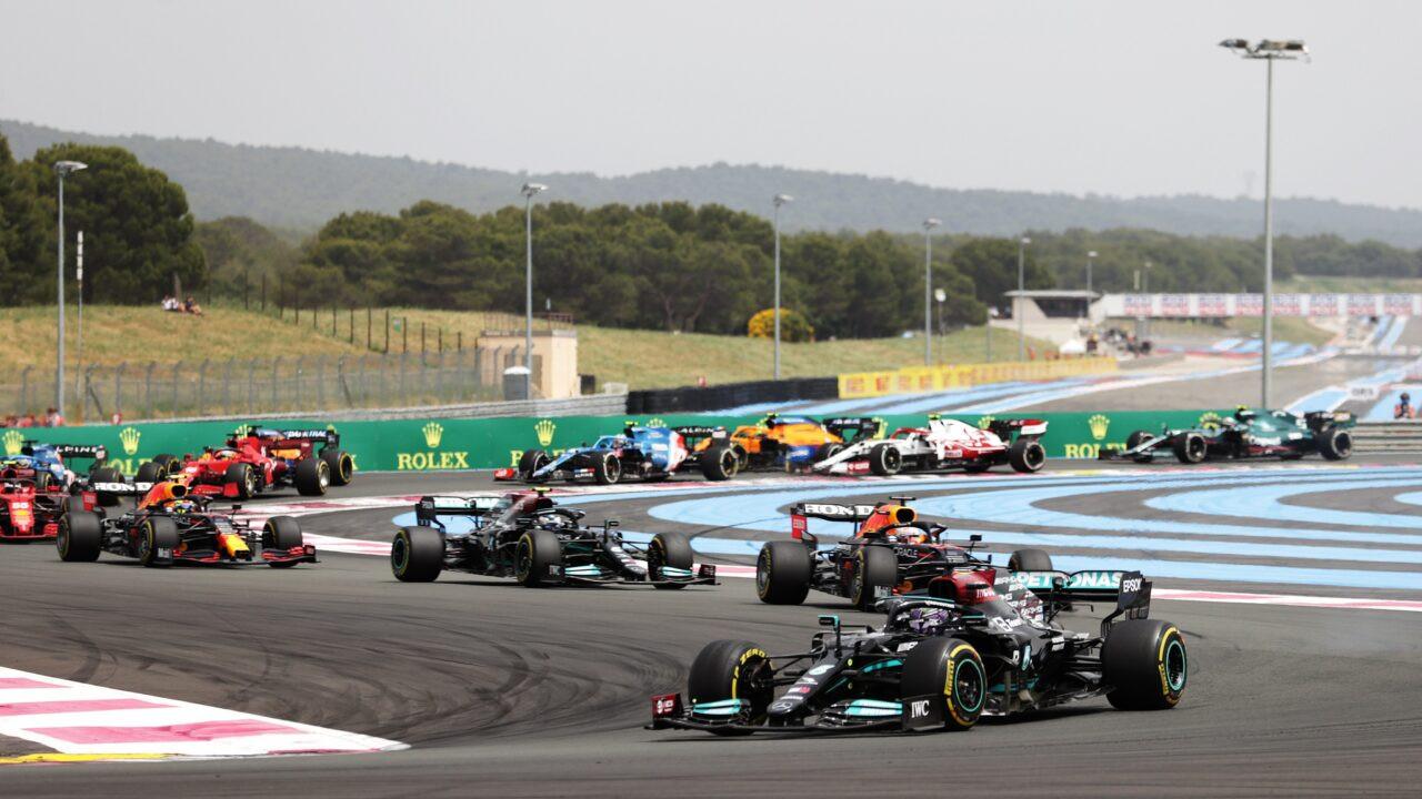 Старт Гран Прі Франції