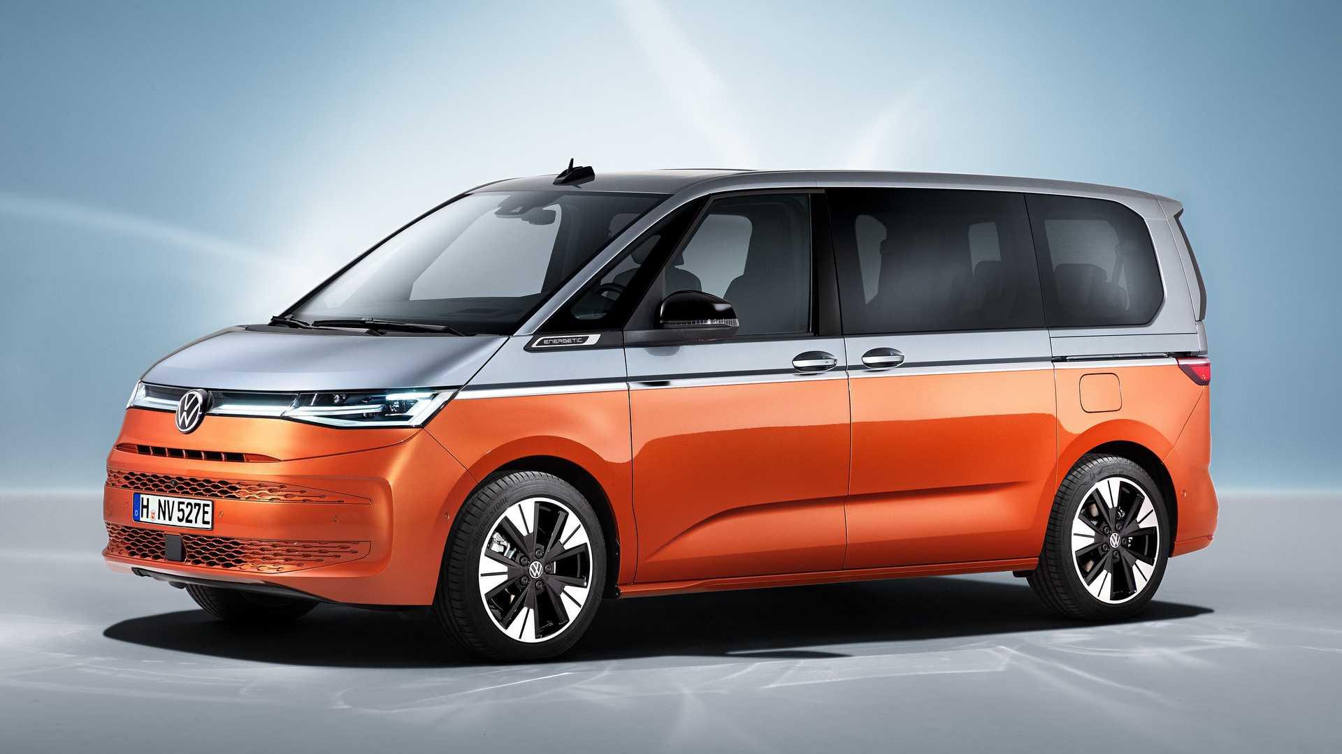 Volkswagen показав новий Multivan T7