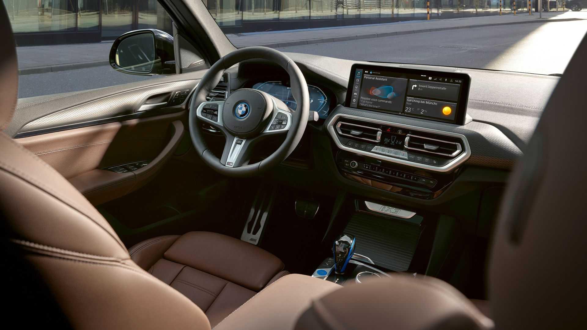 BMW iX3 2022 року