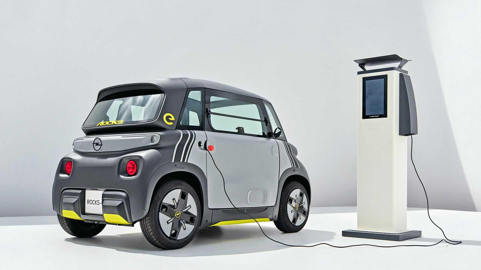 Opel представив компактний електромобіль Rocks-e - Motorcar